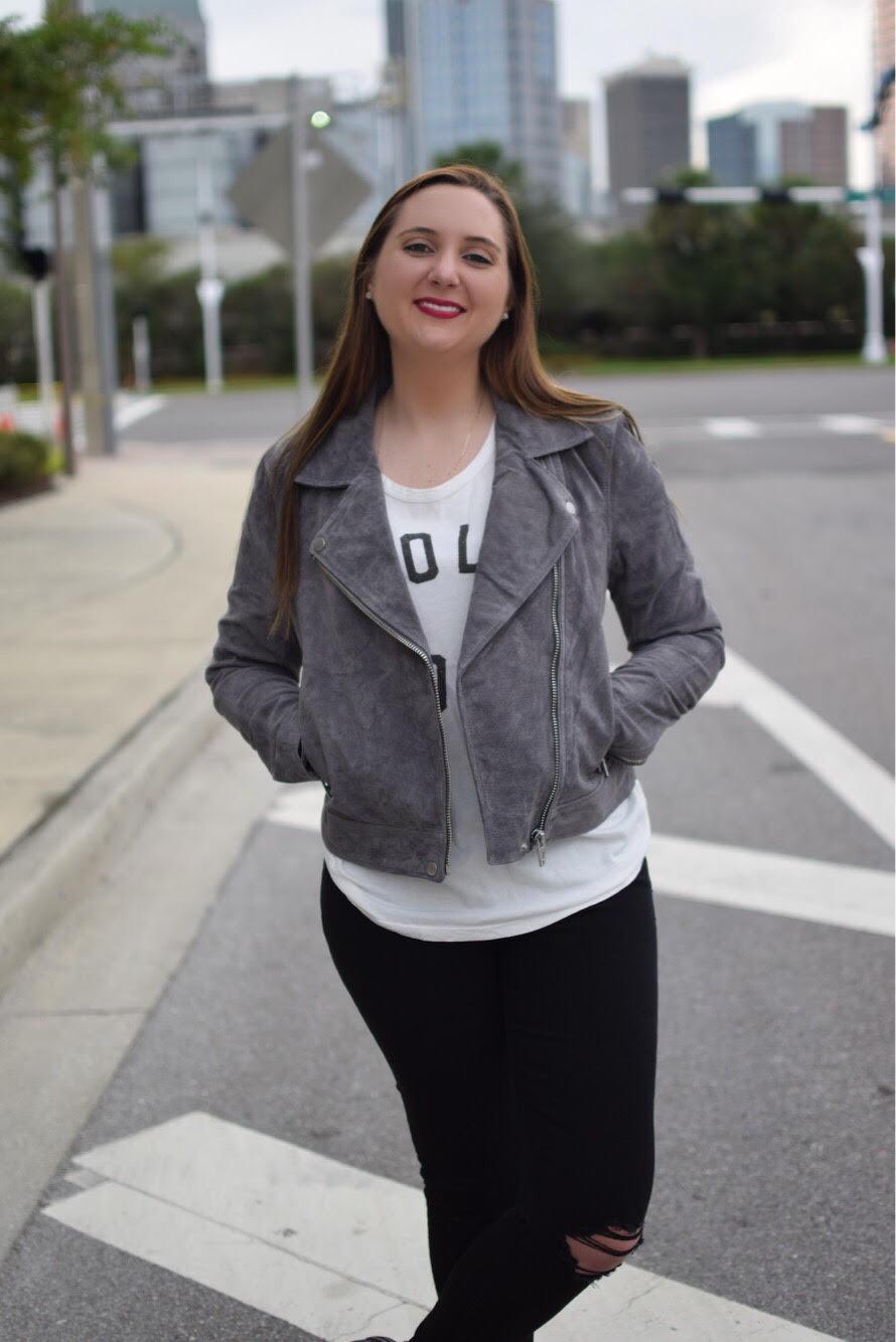 tee jacket