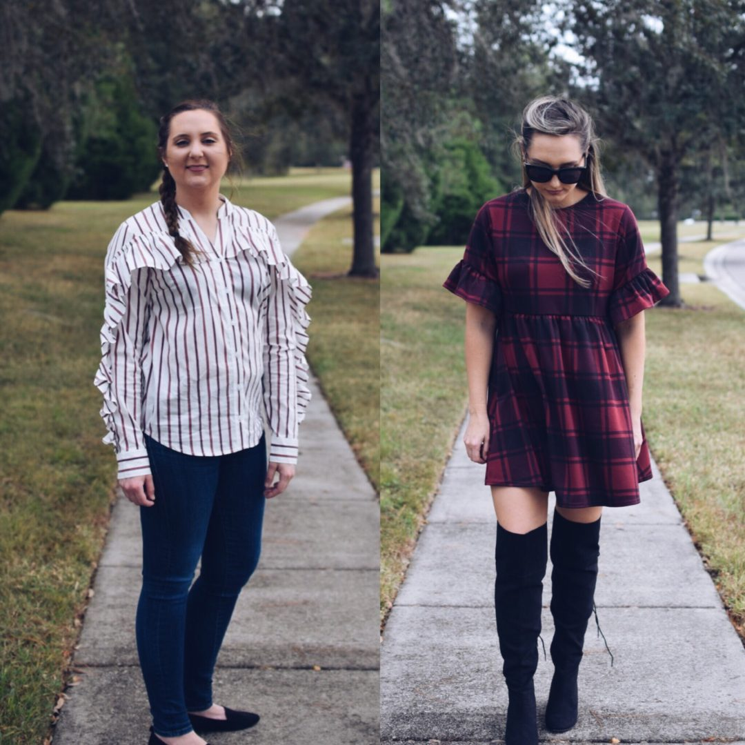 plaid and stripes