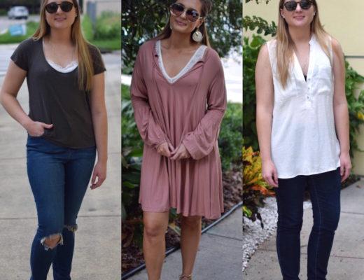 All 3 Bralette Looks